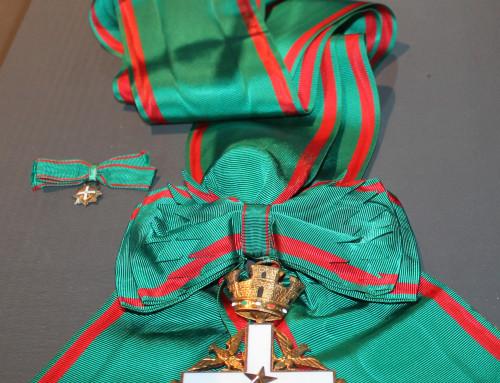 Storkors og kæde af Ordine al merito della Repubblica Italiana, Italien