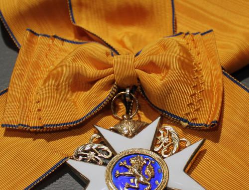 Storkorset af Oranje Nassau Ordenen, Holland
